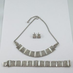 Doso, ensemble (collier, bracelet et boucles d'oreilles), B7181-1