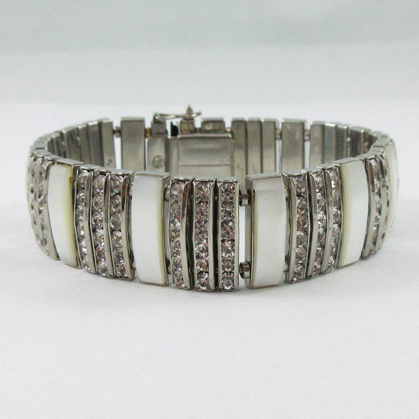 Doso, ensemble (collier, bracelet et boucles d'oreilles), B7181-4