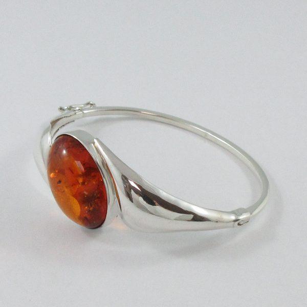 Bracelet, ambre, argent, B6984-2