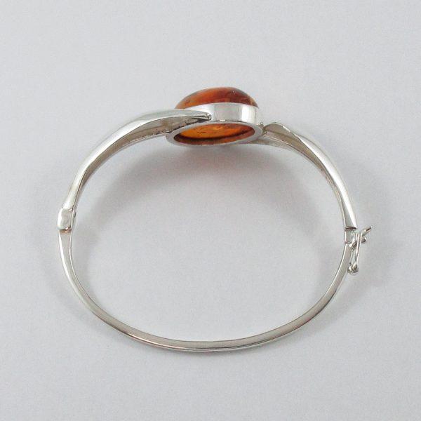 Bracelet, ambre, argent, B6984-3