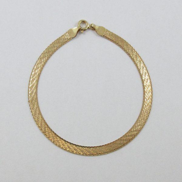 Bracelet, 9K jaune, B7056-1
