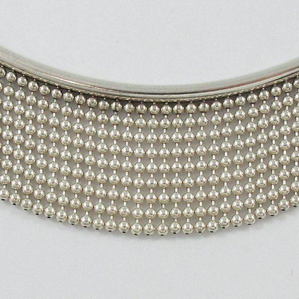 Collier, argent, B7075-2