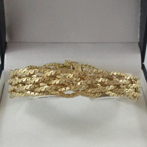 Bracelet, 14K jaune, B7216-1