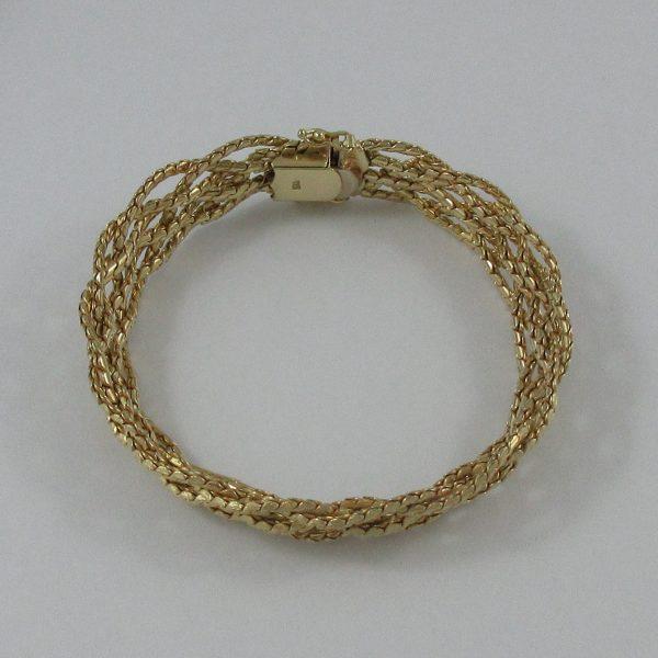 Bracelet, 14K jaune, B7216-1, B7216-2