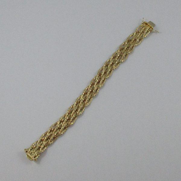 Bracelet, 14K jaune, B7216-4