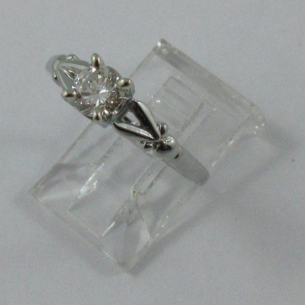 Bague, diamant, 18K blanc,B7227-2