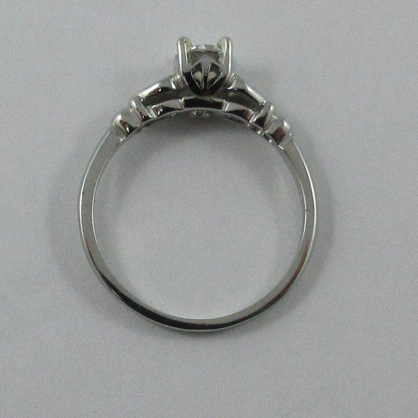 Bague, diamant, 18K blanc,B7227-3